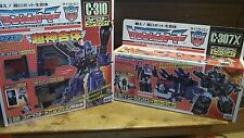 Transformers Takara GodGinrai Black Nucleon Quest Optimus Prime Convoy C-307X-10