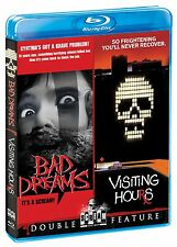 BAD DREAMS / VISITING HOURS  (Michael Ironside) Region A  - BLU RAY - Sealed