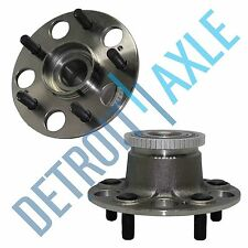 Pair: 2 New REAR Acura CL 5 bolt ABS Complete Wheel Hub and Bearing Assembly