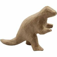 17cm Dinosaur Animal Shaped Craft Paper Mache Make Your Own Decoration Model Art