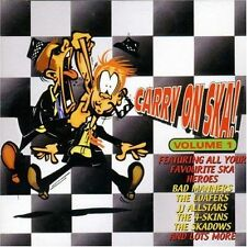 Carry On Ska Vol. 1 CD NEW SEALED Bad Manners/Loafers/Hot Knives/Skadows/Burial+