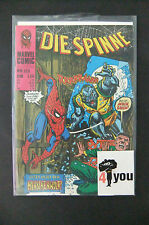 8.5 VF+ VERY FINE+ AMAZING SPIDER-MAN # 124 GERMAN EURO VARIANT W/OWP YOP 1976