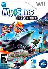 NEW Wii MySims SkyHeroes  Factory Sealed Mint In Box Free Shipping !