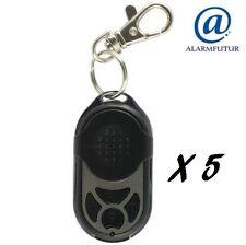 Lot de 5 télécommandes PB-433RII (4 fonctions) pour alarme sans fil Atlantic'S