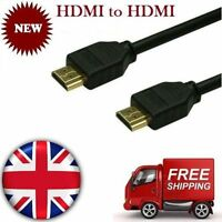 1M 1.5M 1.8M 2M 3M 5M 6M 10M Metre Gold HDMI to 1080p LCD HDTV Lead Cable 3D .