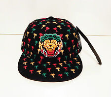 men womens weed cannabis snapback caps hat dope peak lion baseball jamaica