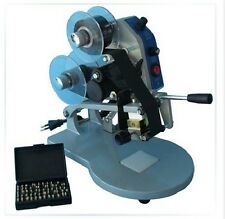 New Manual Number Words Date Printing Machine for Bag,Paper,Film ect
