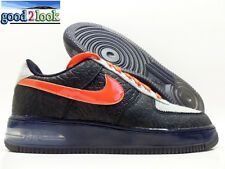 NIKE AIR FORCE 1 SUPREME MAX AIR NPCE QS BLACK/ORANGE MEN'S 8.5 [625907-001]
