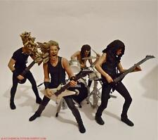 2001 Metallica Harvesters Of Sorrow McFarlane Toys Action Figures Set Of 4