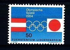 LIECHTENSTEIN - 1964 - Olimpiadi di Innsbruck e Tokyo
