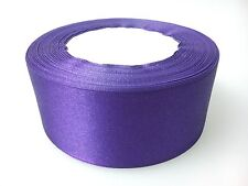 40mm x 22 Metres Full Roll Quality Double Sided Faced Satin Ribbon 20 Colours