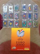 Panini Euro 2000 EM Belgium Netherlands - complete set 358 Sticker + empty album