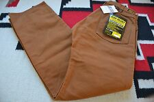 Iron Heart IH-804 Paraffin Coated 22oz Heavy Duty Double Leg Logger Pants 31