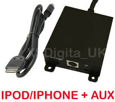 BMW iPod/iPhone Interfaz Adaptador+Auxiliar E46 16:9 Navegación 3 Series X3 X5