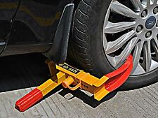 Car Tire Wheel Lock Clamp Boot Tow Truck Trailer Auto AntiTheft Safety Chock NeW