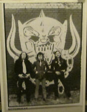 MOTORHEAD RARE NEW POSTER MID 2000'S VINTAGE COLLECTABLE LEMMY LONDON 79