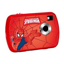 SPIDERMAN 1.3MP DIGITAL CAMERA KIDS HOLDS UP TO 624 PICTURES 8MB MEMORY NEW
