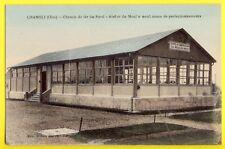 cpa CHAMBLI (Oise) CHEMIN de FER du NORD Centre d'Instruction du MOULIN NEUF