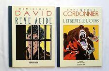 Lot BD - Reve Acide & L étreint de l'ours / DAVID & CORDONNIER / MAGIC STRIP