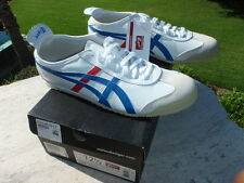 ASICS Onitsuka Tiger Mexico 66 12.5 EU 47 White Red Blue Leather Ultimate DL408