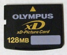 Olympus or Fuji xD 128MB Memory Card - FREE Protective Case !!