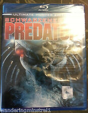 NEW Predator Blu-ray Disc , 2010 , 2-Disc Set , Ultimate Hunter Edition
