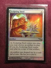 Sculpting Steel Foil MRD Mirrodin   VO   -  MTG Magic (EX)