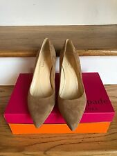 KATE SPADE New York Tosca Camel Suede WOMENS SHOES Size 7