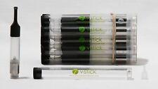 100 Pc Lot 1 ml Accuvape V Stick Cartridge Atomizer Cartomizer Vape Tank