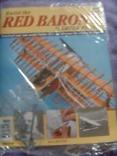 HACHETTE BUILD THE RED BARON'S FIGHTER PLANE FOKKER DR1 # 68 NEW SEALED