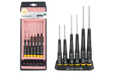 Wiha 6pc Micro Precision Screwdriver Set Hex Allen Hexagon 0.9mm 1.3mm 1.5mm 3mm