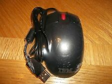 IBM MO28UOL/MO28UO 3 Button USB Opticall Mouse Mice, FREE Shipping!  USED