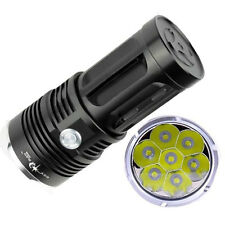 SKYRAY 3 Modes 10000LM 7 x CREE XM-L T6 Super Bright Flashlight Ourdoor Torch