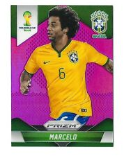 Marcelo 2014 PRIZM WORLD CUP BRAZIL PURPLE REFRACTOR 02/99 REAL MADRID
