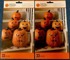 2 sets of Martha Stewart Hallloween pumpkin transfers - 48-20014 - NIP