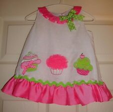 RARE/EDITIONS~girl~FANCY/BIRTHDAY/CUPCAKE/LINED/summer/DRESS! (12/MO) BRAND/NEW!