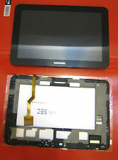 """DISPLAY+TOUCH SCREEN +COVER ORIGINALE SAMSUNG PER GALAXY TAB P7310 8,9"""" FRAME GT"""