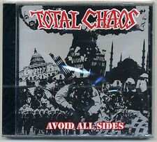 Total Chaos - Avoid All Sides CD GERMANY PRESS Casualties Exploited Punk HC Oi!