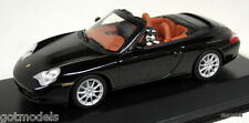 MINICHAMPS 1/43 - 400 061031 PORSCHE 911 CABRIOLET 2001 + PAUL LANGS DOGS