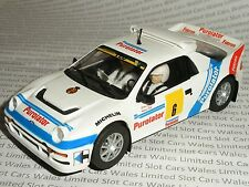 Scalextric-Ford RS200 PUROLATOR CARLOS SAINZ-como nuevo CDN