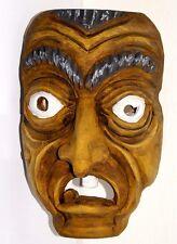 Krampus Maske Kindermaske Krampusmaske Wandmaske handgeschnitzte Holzmaske