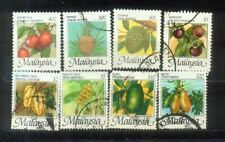 Malaysia 1986 Fruits HV Definitive Complete Set Up  $20