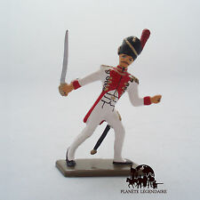 Figurine Soldat Plomb Starlux Officier Grenadier Hollandais Empire Napoléon
