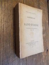 conférences de Saint-Etienne école pratique d'étude biblique 1909-1910