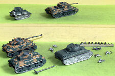 war games figures ww2 15mm for flames of war british tanks white metal