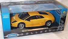 Lamborghini Murcielago Yellow 1-18 scale new boxed item