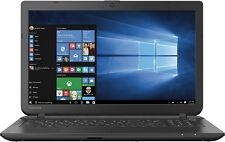 "Toshiba 15.6"" Laptop Intel DualCore 4GB 500GB WEBCAM DVD±RW WiFi HDMI Notebook"