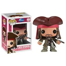 "Funko Disney JACK SPARROW Pirates of Carribean JOHNNY DEPP 3.75"" POP FIGURE MINT"