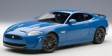 2011 Jaguar XKR-S French Racing Blue 1:18 Scale Diecast AUTOart 73641 Rare Ut