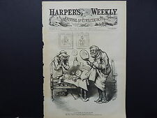HARPER'S WEEKLY, Front Page #18 Aug 1876 A Hard Summer for the Soft Rag Baby
